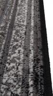 Dutchbone - Rugged Dark Teppe - 200x300