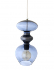 Ebb&Flow - Futura pendel, deep blue, Ø18