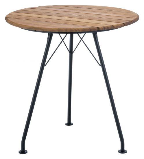 HOUE - CIRCUM Cafébord Ø74 - Bambus/Stål