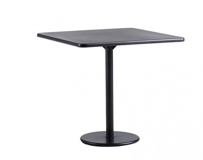 Cane-line - GO Cafebord i Lavagrå alu. 75x75