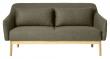 FDB Møbler L38 Gejsa 2-pers, Sofa - grønn