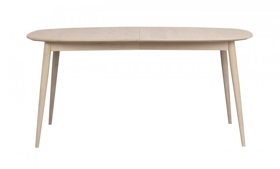 Dawsone Spisebord, Hvitvasket eik, 160x105