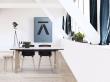 Andersen Furniture - T1 Spisebord m. Uttrekk og ben i lys tre - 160cm