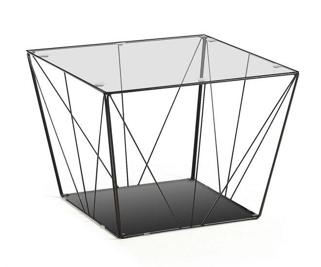 LaForma - Tilo Sofabord 60x60 - Sort