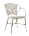 Sika-Design - Valerie Hagestol m/armlen - Hvit