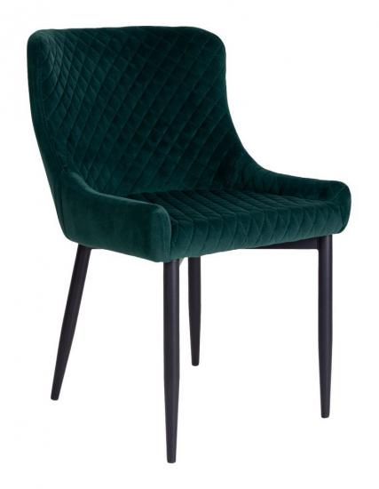 Boston Spisebordstol - Grønn Velour