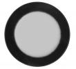 Shadow Spejl - Sort kant, Ø80