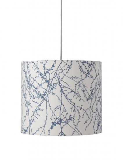Ebb&Flow - Lampeskjerm, branches, indigo, Ø35