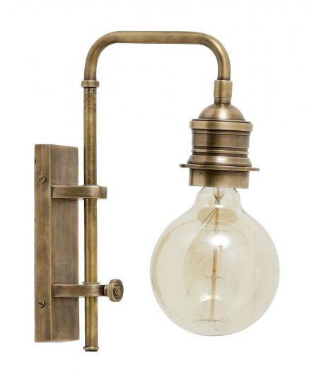 Nordal - Vegglampe - Messing S