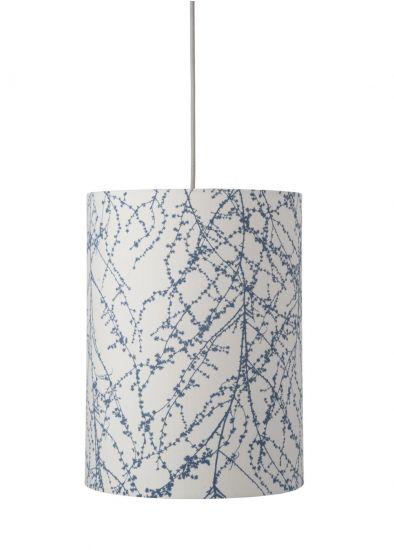 Ebb&Flow - Lampeskjerm, branches, indigo, Ø30
