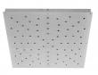Ebb&Flow - Ceiling box, square, L, Sølv