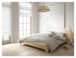 Elan Sengeramme Natur, Comfort Futon madrass, Sort, 180x200