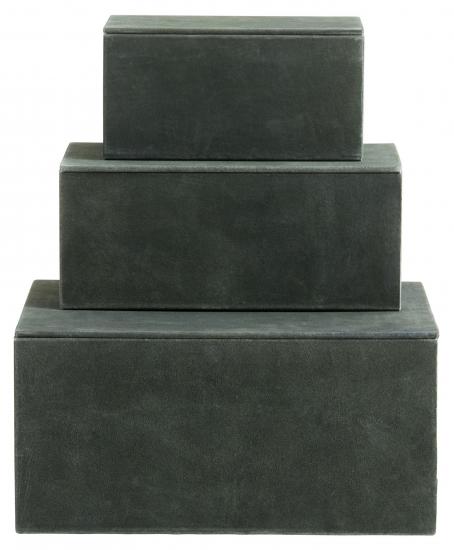 Nordal Box i Ruskinn - Flaskegrønn