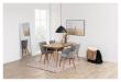Bess Spisebordsstol m/armlen - Lys grå
