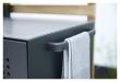 Cane-line Drop Utekjøkken enkeltmodul inkl. 2 hylder, Lava grey, aluminium