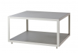 Cane-line - Level Sofabord Hvit, betong - 79x79