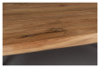 Dutchbone Aka Spisebord - Akasie/Sort, 180X90