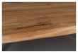 Dutchbone Aka Spisebord - Akasie/Sort, 220X90