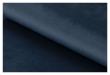 Ramsey Lenestol marineblå stoff - Svart ramme