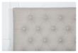 Furuvik sengegavl, Beige stoff, B:160