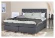 Furuvik sengegavl, Mørkegrå stoff, B:180