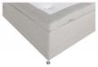 Vansbro 5-zoner Elevationsseng Fast, Beige stoff, 120x200