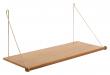 We Do Wood Loop Shelf - Eik/Messing