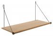 We Do Wood Loop Shelf - Eik/Sort