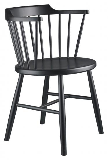 FDB Møbler J18 Spisebordstol - Bøk Sort