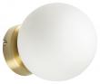 Kave Home Mahala Vegglampe - Hvit/Gylden