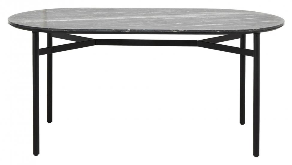 Nordal Taupo Spisebord - Sort Marmor, 175x90