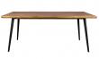 Dutchbone - Alagon Spisebord 180x90 - Svarte ben