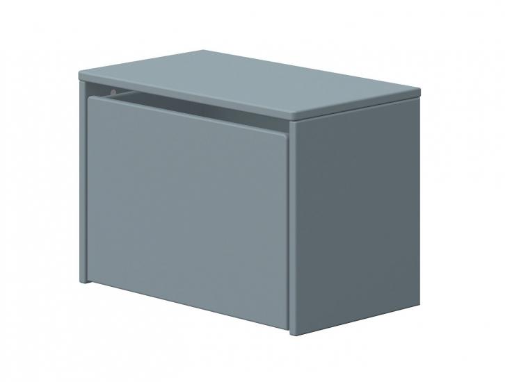 FLEXA Dots oppbevarings benk - Lys Blå