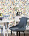 Sierra Spisebordsstol, Blå Velour
