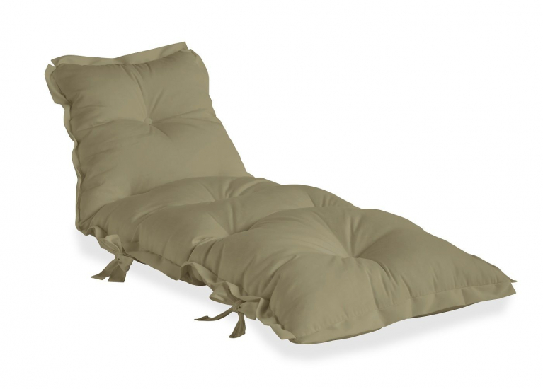 Sit&Sleep Futon madras/stol Outdoor - Beige