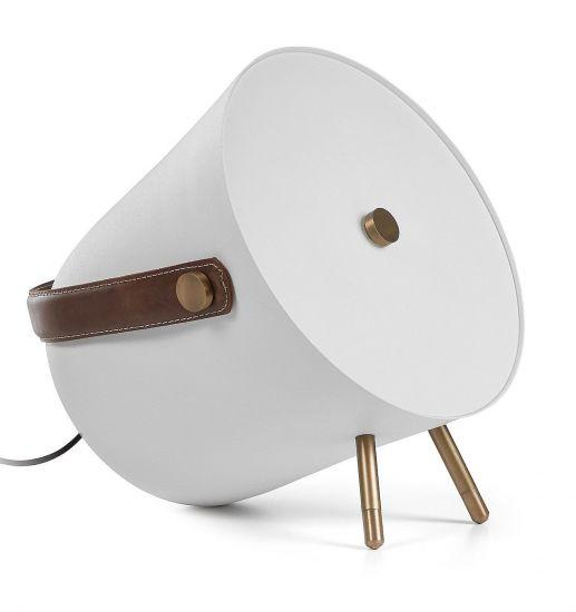 Kave Home - Match Bordlampe - Hvid