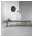 Kristina Dam Studio Minimal Daybed, Eik, Skinn