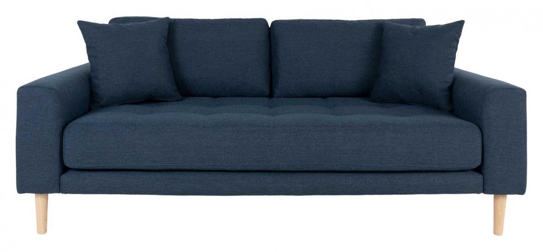 Lido 2,5-pers, Sofa - Mørkeblå