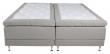 Vansbro 5-zoner Elevationsseng Medium/Medium, Beige stoff, 180x200