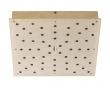 Ebb&Flow - Ceiling box, square, M, Gull