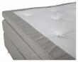Rättvik 5-zoners Kontinentalseng Medium/Medium, Beige stoff, 180x200