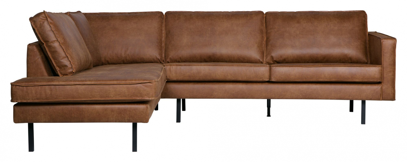 Rodeo Sofa m/venstrevendt chaise - Cognac