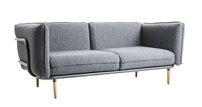 Cane-line - Urban Loungesofa - Lavagrå