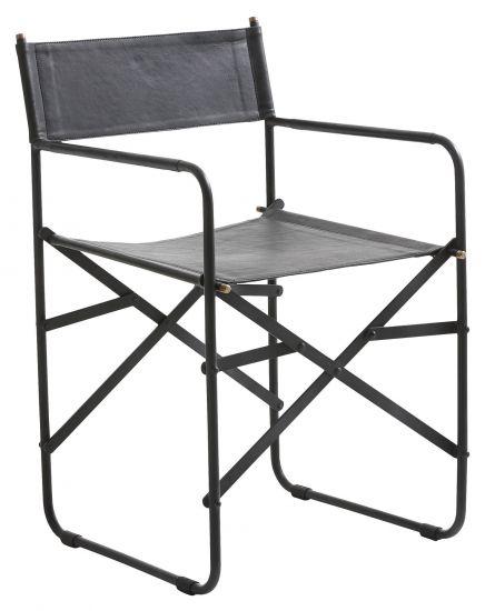 Fuhrhome Hollywood Spisebordsstol - Bøffelskinn, Sort