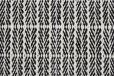 Fabula Living - Tanne Teppe Hvit/Svart - 140x200