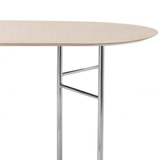 Ferm Living - Mingle Bordplade oval L150 - Egefinér