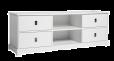 Mavis - Smögen TV-bord B180 - Hvitlakkert MDF
