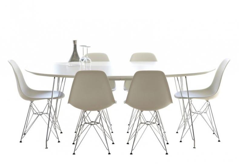 Andersen Furniture - DK10 Spisebord - Oval m. metall ben