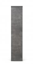 Temahome Berlin Reol - Mørk Betongrå, 159x150