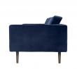 Broste Copenhagen - Wind Sofa 2-pers. Fløyel - Insignia Blue